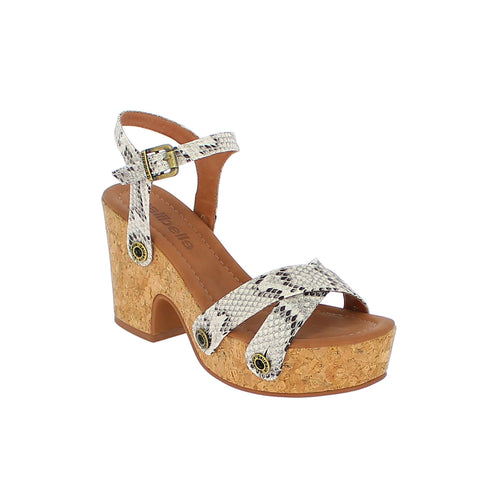 michelle me01 snake grey strap - galibelle