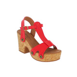 michelle me02 red atanado strap - galibelle