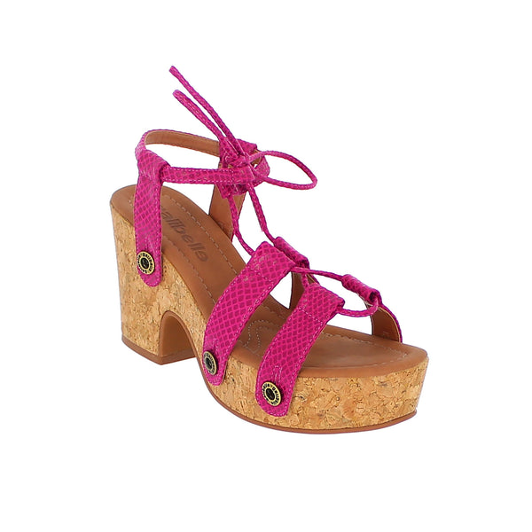 michelle me19 snake pink strap - galibelle