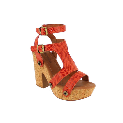 sara sr19 snake orange strap - galibelle