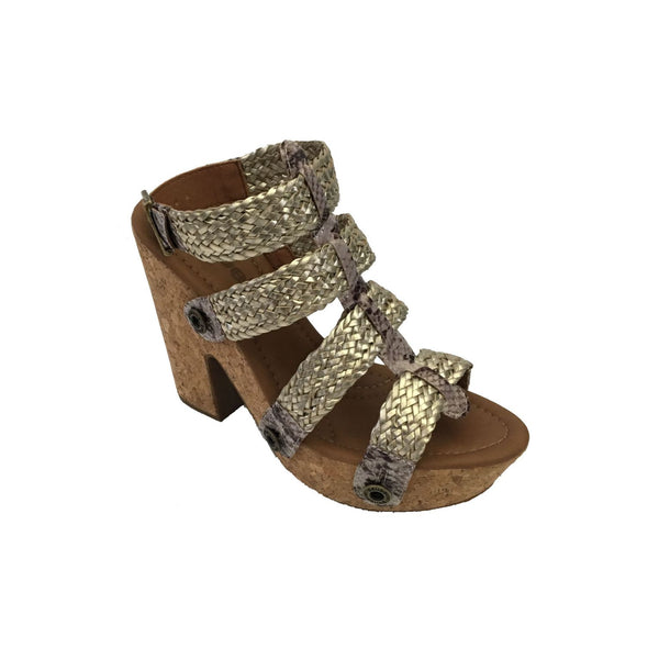 sara sr21 combo snake grey/light gold braid strap - galibelle