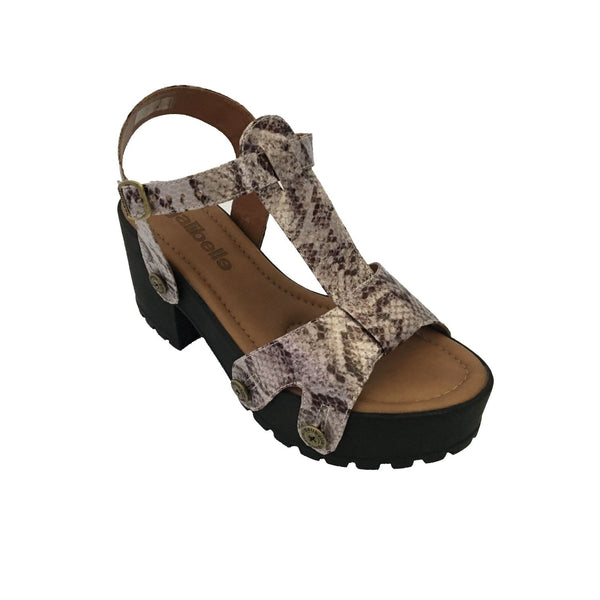 michelle me02 snake grey strap - galibelle