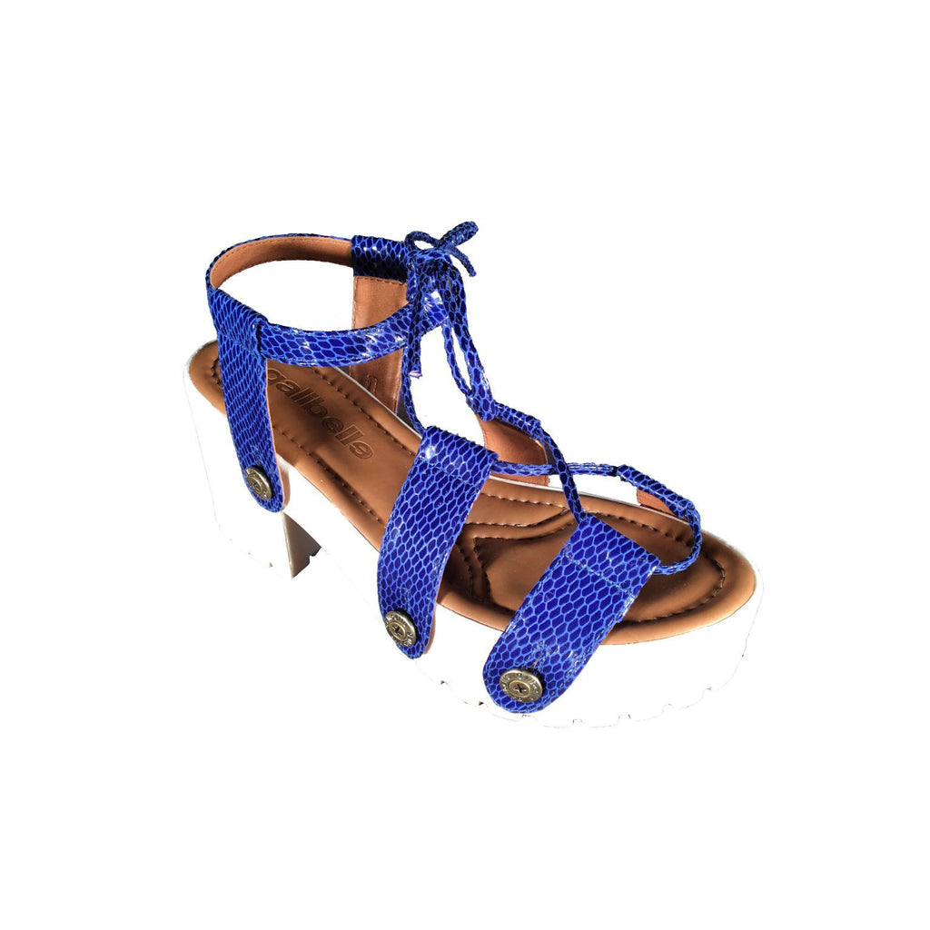 michelle me19 snake royal blue strap