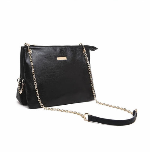 3 in 1  Iris Black Purse