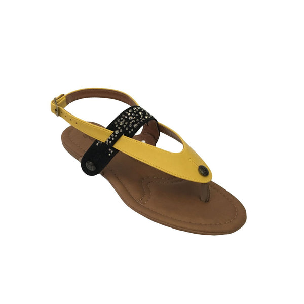 gal gl19 combo suede black/yellow ata strap - galibelle