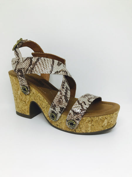 michelle me15 snake grey strap - galibelle