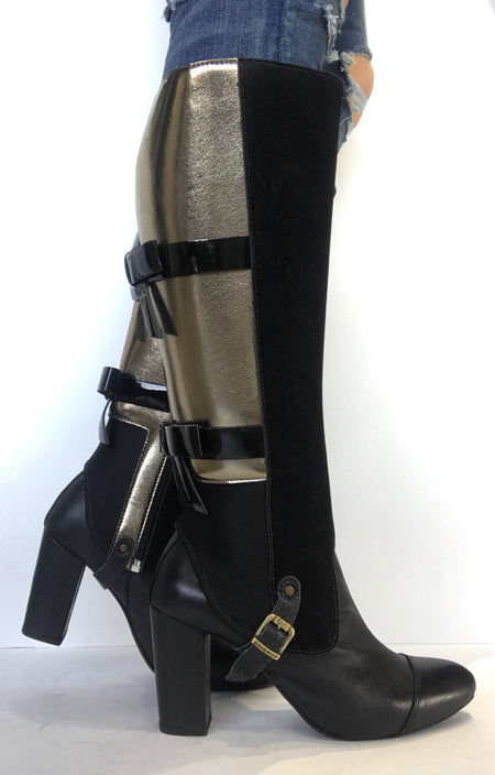 bt00 zipper high ankle boot 38703-1