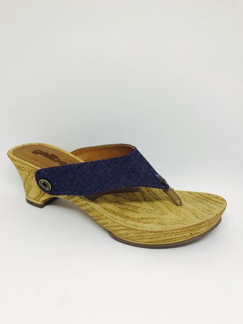 noya no01 dark blue jean strap - galibelle