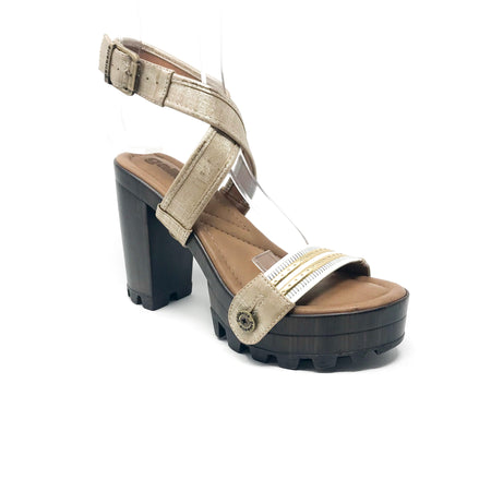 michelle me15 snake grey/black lace strap