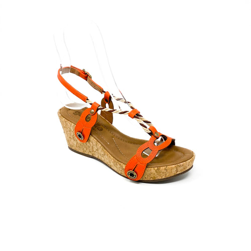 bruna br35 cb7 ata orange/cord nude gold coffee