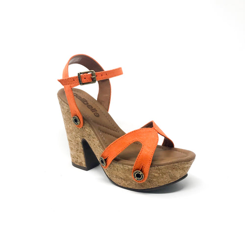 sara sr01 suede orange strap