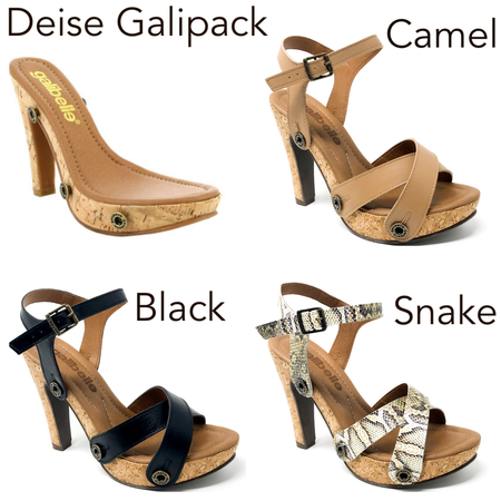 Danni galipack black/navy/Snake
