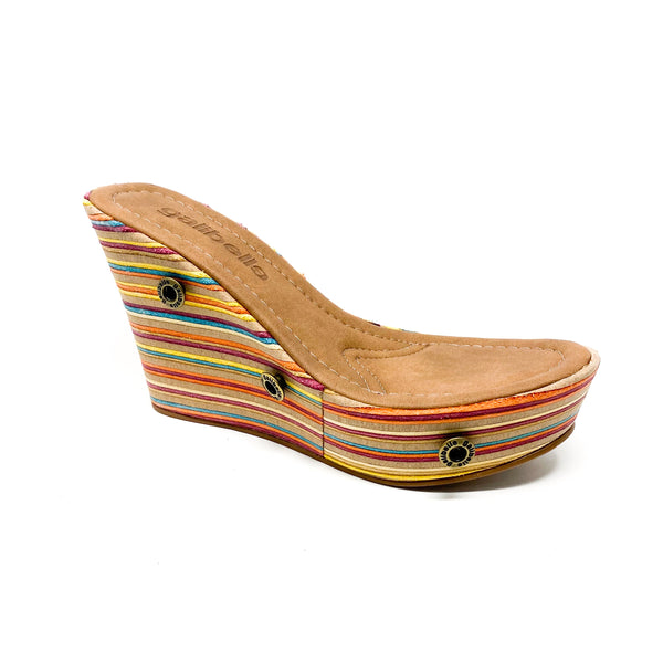 giovanna gv00 colored leather wedge sole