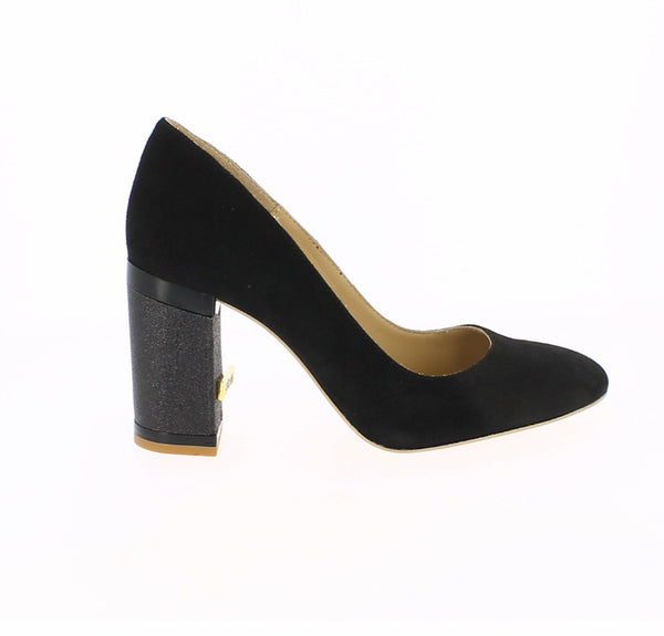 City collection Paris black suede shoe