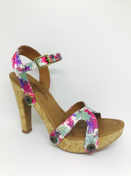 deise de01 satin multicolor strap - galibelle