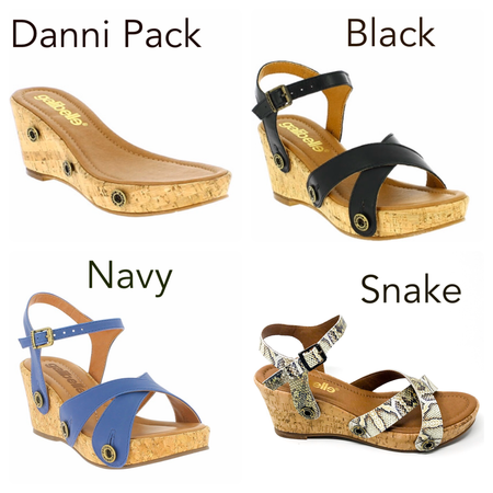 Danni galipack navy/leopard/black