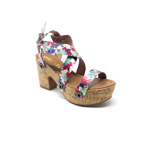 michelle me15 multicolor satin strap