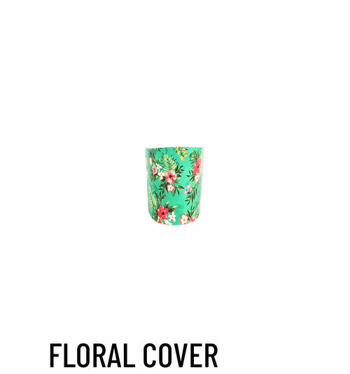 Heel cover floral