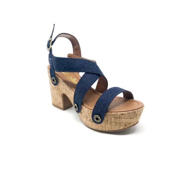 michelle me15 dark blue jean strap