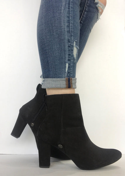 bt00 black suede high ankle boot - galibelle