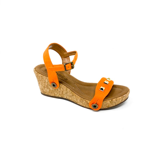 bruna br13 suede orange