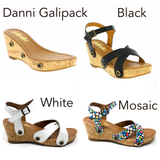 Danni galipack black/white/mosaic
