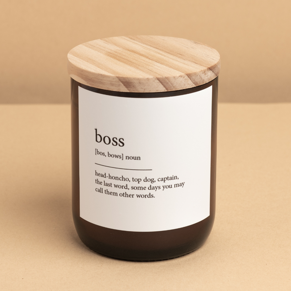 Dictionary Candle / boss