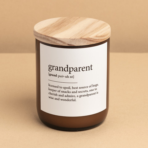 Dictionary Mid Candle - grandparent