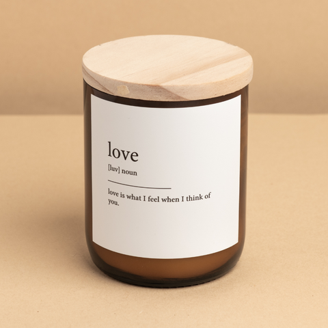 Dictionary Meaning Candle - love