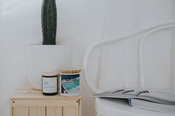Dictionary Meaning Soy Candle - surf