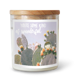 You're some kind of wonderful Soy Candle // Joshua Tree Flowering Cactus
