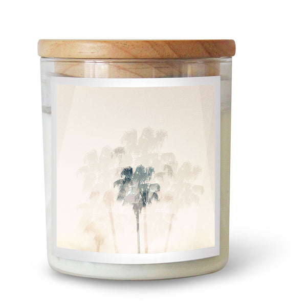 Sea Bones Double Exposure Candle