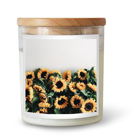 Sunflowers Candle