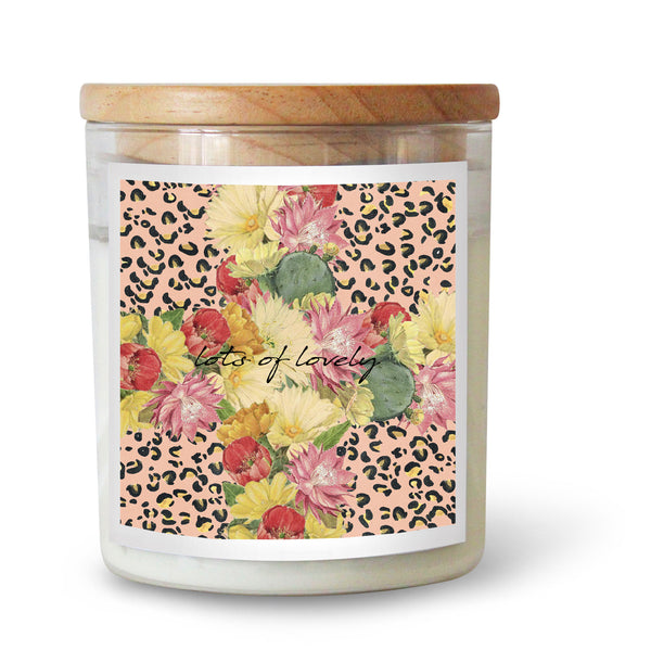 "Ourlieu Collab Cactus Cross ""Lots of Lovely"" Soy Candle"