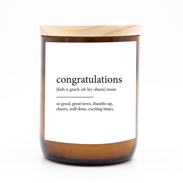 Dictionary Meaning Candle - congratulations
