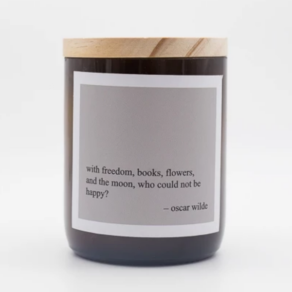 Heartfelt Quote Candle - freedom
