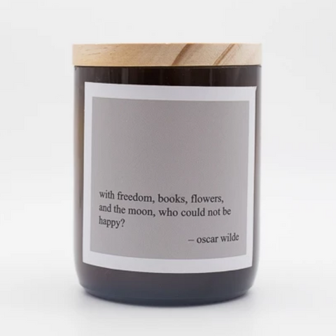 Heartfelt Quote Soy Candle - freedom