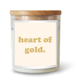 Heart of Gold Candle