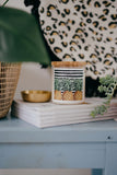 "Ourlieu Collab Pineapples ""Smile More, Worry Less"" Candle"