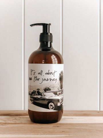 Botanical Hand + Body Wash || About the Journey