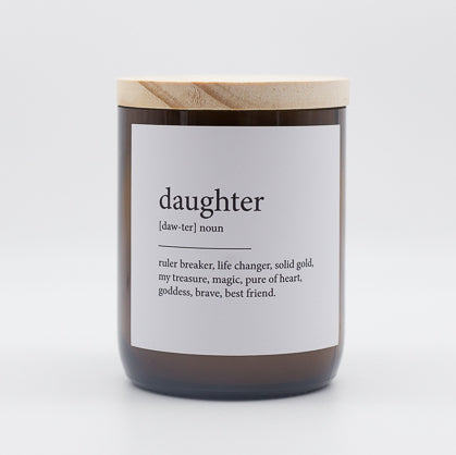 Dictionary Meaning Candle - daughter