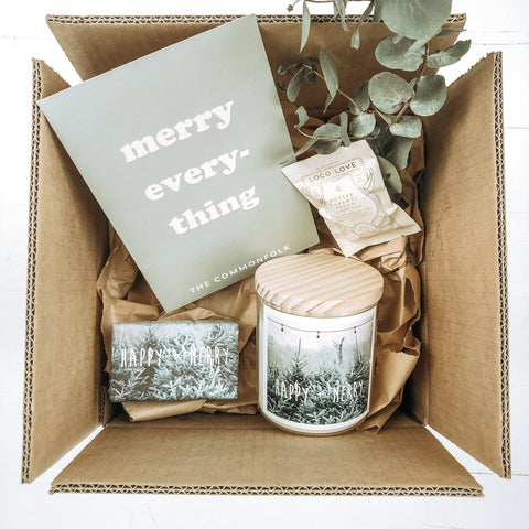 ** PRE-ORDER ** Christmas Gift Box - XL Candle