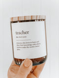 Dictionary Meaning Candle - teacher