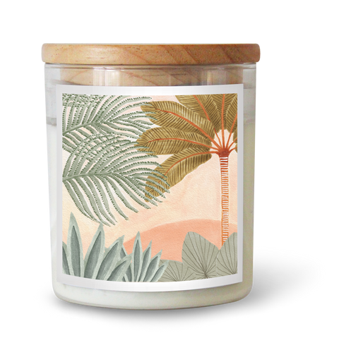 The Landscape Candle featuring Karina Jambrak