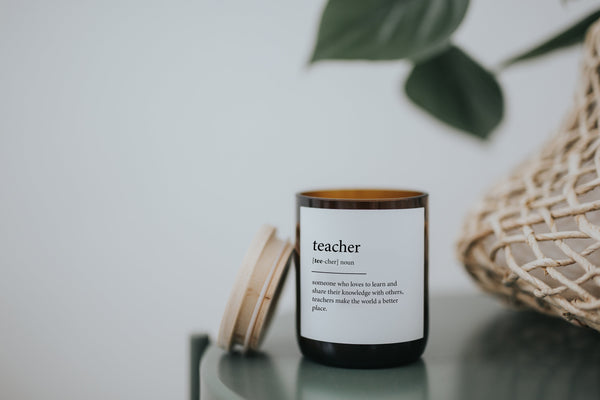 Dictionary Meaning Soy Candle - teacher