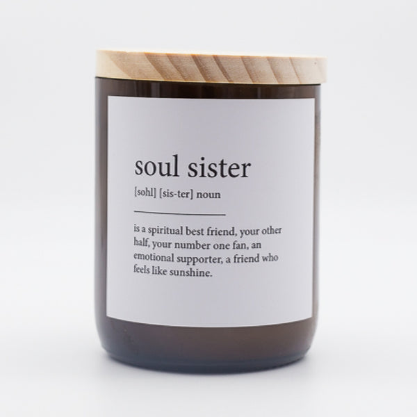 Dictionary Meaning Soy Candle - soul sister