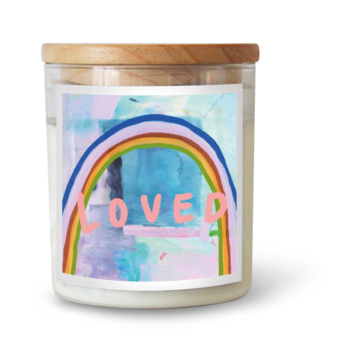 Loved Candle Featuring Kate Eliza