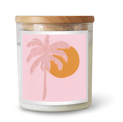 Palm Paradise Soy Candle by Natalie Jade