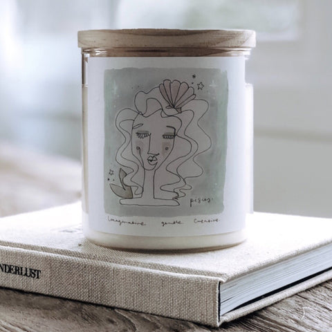 Zodiac Soy Candle - Pisces