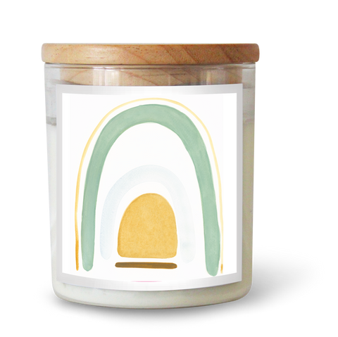 Sage Rainbow Soy Candle by Natalie Jade